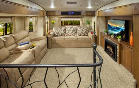 front living room rv fifth wheel cers with front living rooms living room