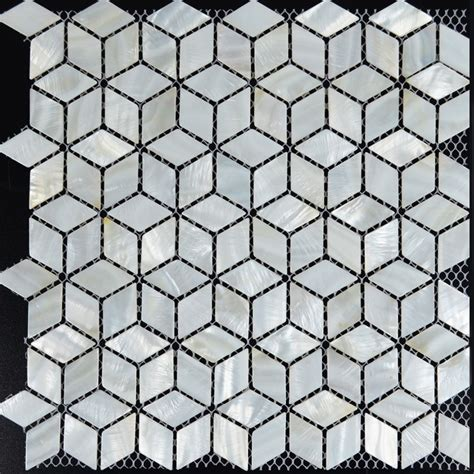 diamond pattern black and white tile floor white mosaic tile backsplash rhombus kitchen mother of