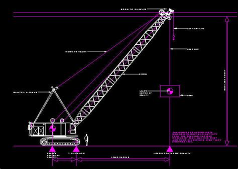 M Drawing In Autocad by Mobile Crane Autocad Drawing Mobile Crane Drawing Autocad