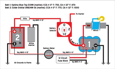 with 2 battery boat wiring diagram get free image about