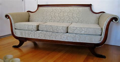 duncan phyfe sofa antique duncan phyfe sofa c 1920 claw foot legs mahogany