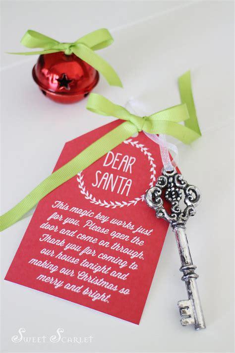 printable christmas key santas key printable tags santas magic key reindeer food
