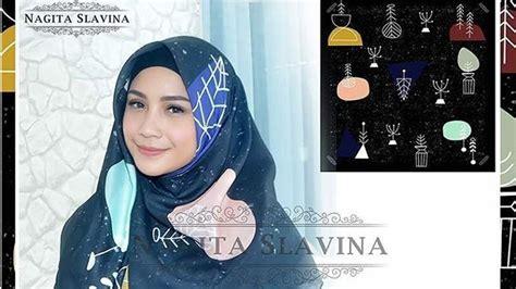 Usaha Jilbab Nagita Slavina Buka Usaha Fashion Jilbab Menjelang