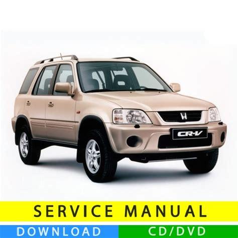 old car owners manuals 2012 honda cr v electronic valve timing honda cr v service manual 1996 2001 en tecnicman com