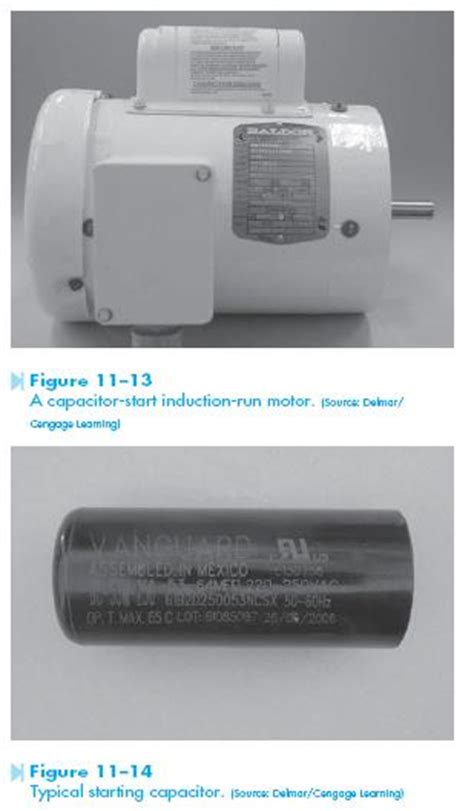 capacitor motor start troubleshooting capacitor start induction run motors hvac troubleshooting