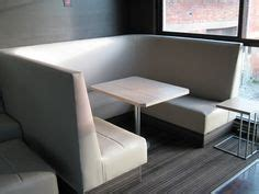 booth banquette seating horizontal channel back booths i like the yellow for the