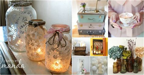 diy decorations vintage 30 charming vintage diy projects for timeless and classic decor diy crafts