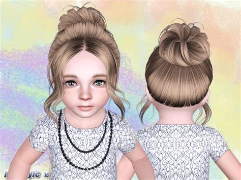 tsr kids hair skysims hair 166