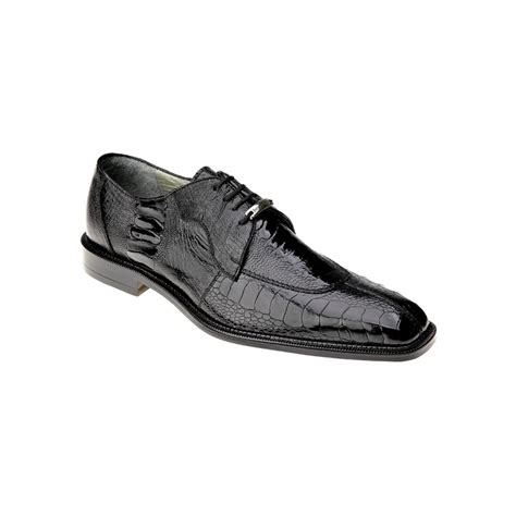 belvedere sneakers belvedere siena ostrich lace up shoes black