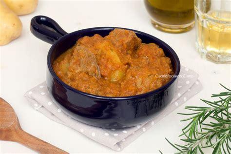 cucinare spezzatino con patate spezzatino con le patate ricetta gustosa