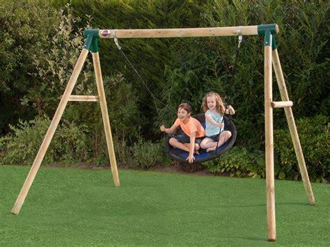 garden swing sets 9 best children s swing sets outdoor activity extras