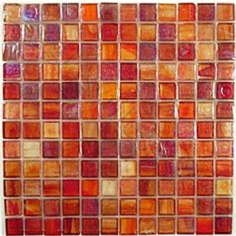 orange backsplash tile tile on tiles tile and kitchen