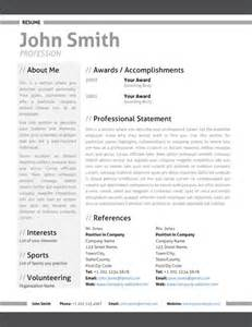 Resume Portfolio Template by Modern Resume Template Cover Letter Portfolio