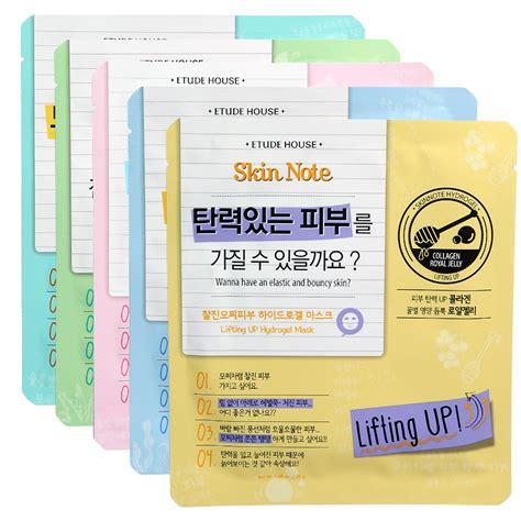 Sheet Mask Etude etude skin note hydro gel mask sheet kollectionk