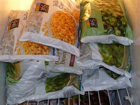 Shelf Of Frozen Vegetables by Fuel A Healthy Freezer And Pantry Live Well