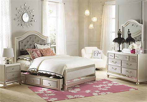 full bedroom sofia vergara petit paris chagne 6 pc full panel