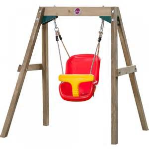 Treehouse Social Club - wooden baby swing set wooden dimensional swing sets plum play australia