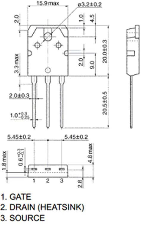 transistor mosfet k2837 k3878 datasheet k3878 pdf pinouts circuit toshiba