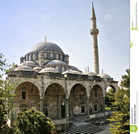 ottoman mosque historic ottoman era mosque in istanbul stock photo