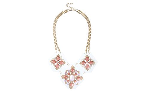 Mirror Pendant Necklace From Miss Selfridge by Miss Selfridge S Glittery New Collection