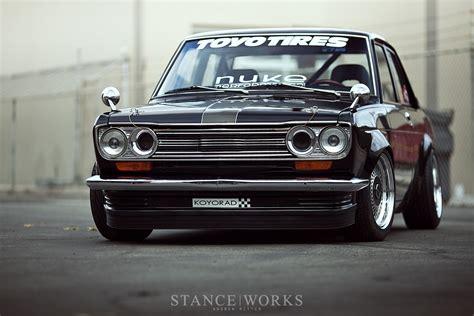 nissan datsun 510 stance works dominic s datsun 510