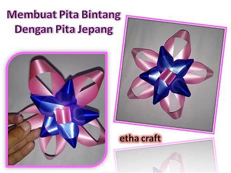 cara membuat pohon natal dari pita jepang etha craft membuat pita bintang dari pita jepang