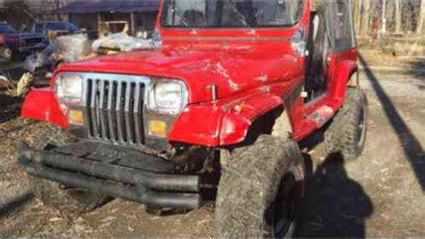 1995 Jeep Wrangler Transmission Jeep Wrangler 1995 Yj Se 4 0l 5 Speed Manual