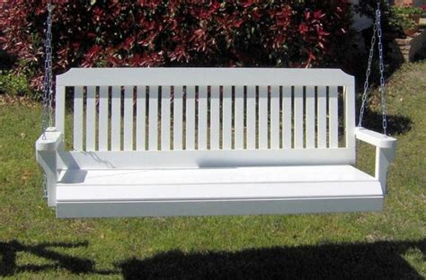 heavy duty porch swing springs new 6 foot white painted traditiona l porch swing tree