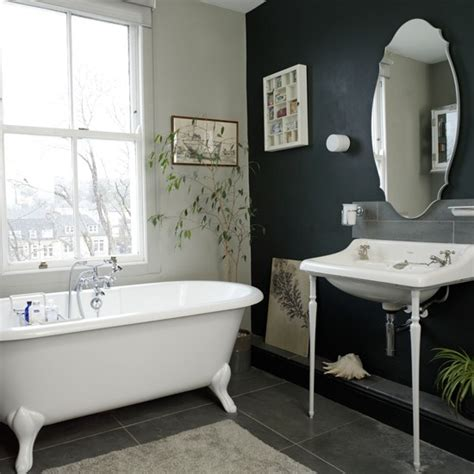 house to home bathroom ideas black and white traditional bathroom traditional