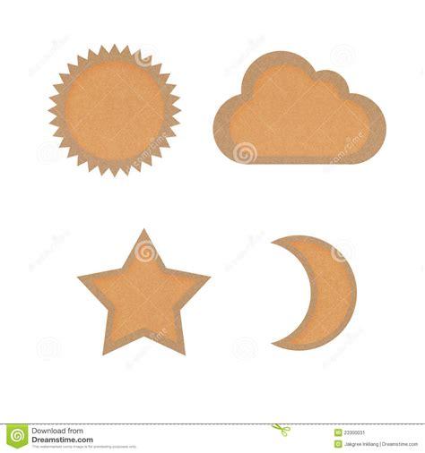 estrella del sol de la luna en c 237 rculo del arco iris la estrella del icono sol luna nube recicl 243 el