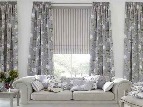 Grey Living Room Curtains Decorating Door Windows Choosing Curtain For Living Room Windows With Grey Flower Theme Choosing