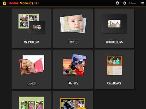 kodak greeting card templates kodak moments hd tablet app apprecs