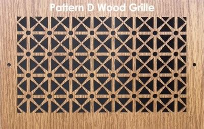 pattern cut wood grilles wood covers grilles pattern d patterncut com