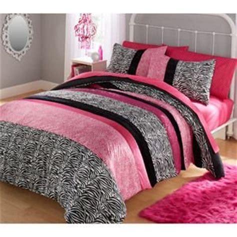 cheetah queen comforter set com teen girl black pink supersoft zebra cheetah