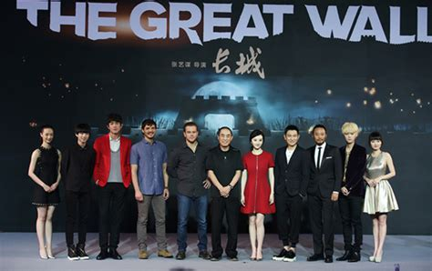 film china wall zhang yimou s great wall to promote chinese culture