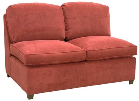 armless sleeper sofa roth sectional armless full sleeper sofa carolina chair