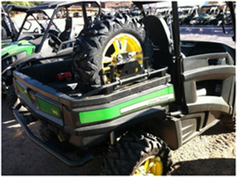 john deere gator spare tire rack (tire not included)