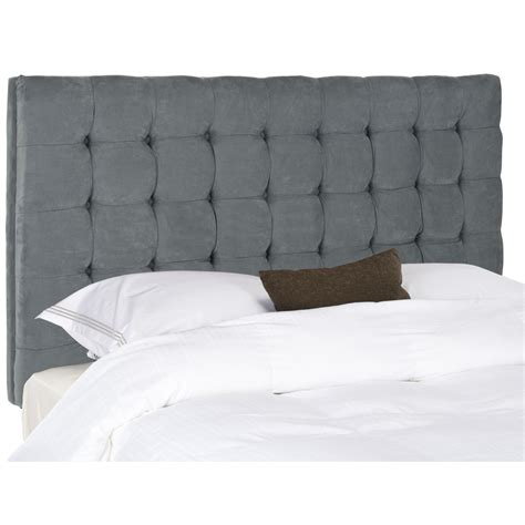 Blue Headboard by Mattresses Mac Safavieh Lamar Steel Blue Headboard