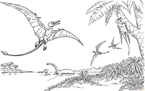hard dinosaur coloring pages pteranodon coloring pages hard coloring pages