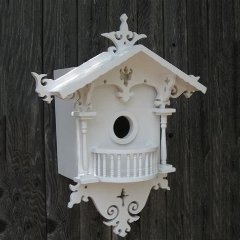 Decorative Bird House by Home Bazaar Hb 2018n Signature Series Cuckoo Cottage Bird