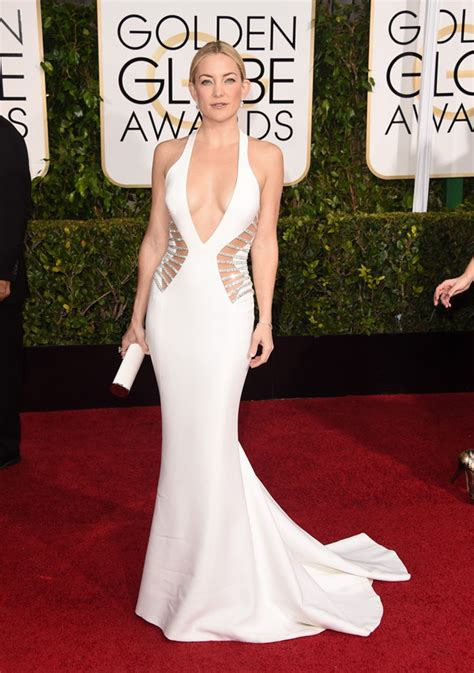 White At The Golden Globes by Actresses Best Dressed Of Golden Globes 2015 Fashion