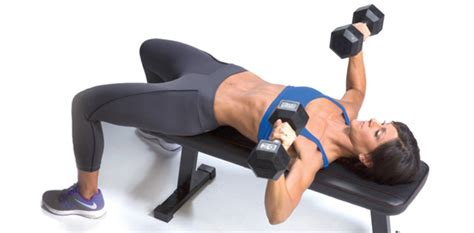 flat bench dumbbell chest press the best workouts