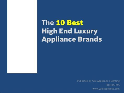 Kitchen Appliance Brand Rankings by Top 10 Luxury Kitchen Appliance Brands