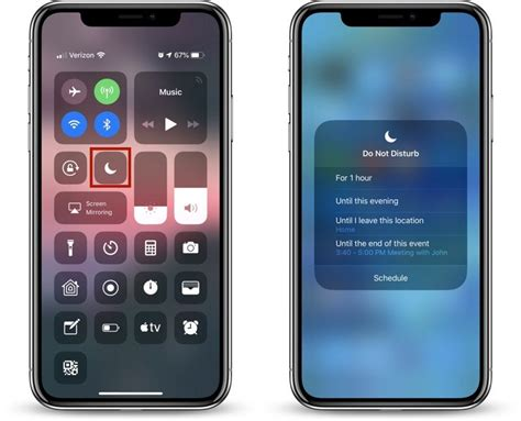 how to use ios 12 s new do not disturb options macrumors