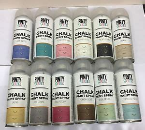 pinty plus chalk spray paint shabby chic furniture 400ml