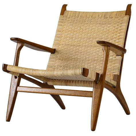 Hans Wegner Lounge Chair by Hans Wegner Ch 27 Lounge Chair For Sale At 1stdibs