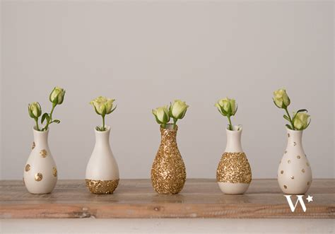 Mini Vases For Wedding by Diy Wedding Wednesday Pattern Play Mini Vase Sets The