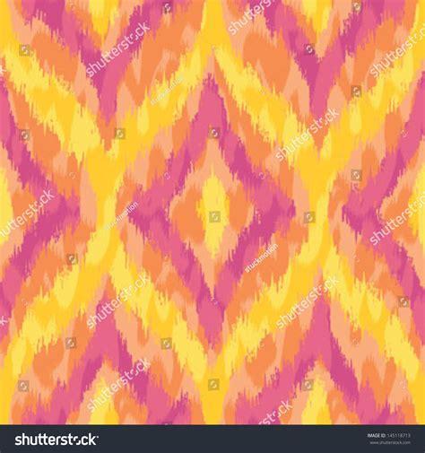 pattern yellow pink wild yellow and pink ikat seamless background pattern