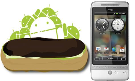android eclair android os turns four step by step journey through the years pictures gizbot gizbot news