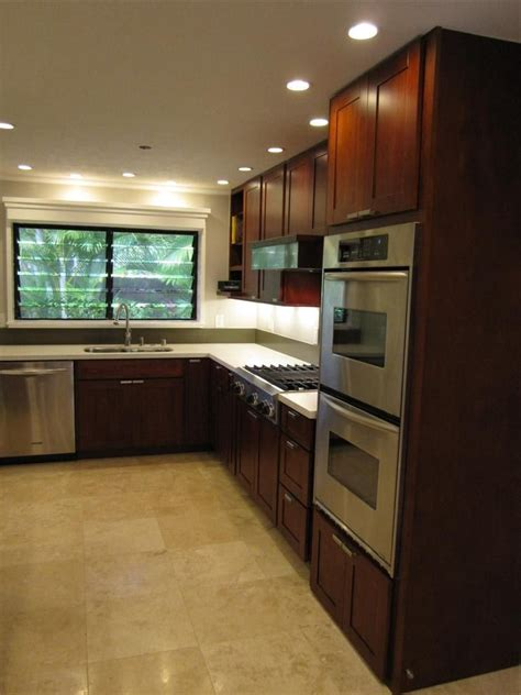 Kitchen Cabinets Honolulu by Burgundy Cherry C Amp C Cabinets And Granite